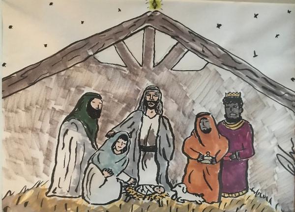 resized manger