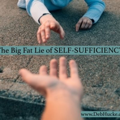 The Big Fat Lie of Self-Sufficiency