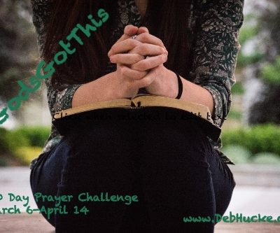 Forty Day Lenten Prayer Challenge