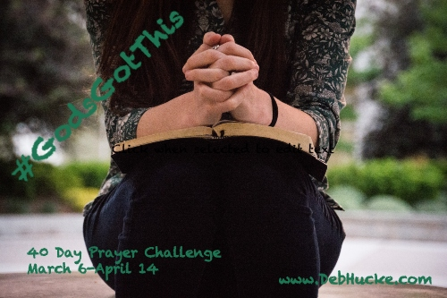 Prayer challenge