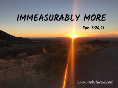 Immeasurably More