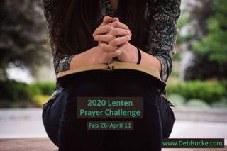 CHECK IN: Week 1                Lenten Prayer Challenge
